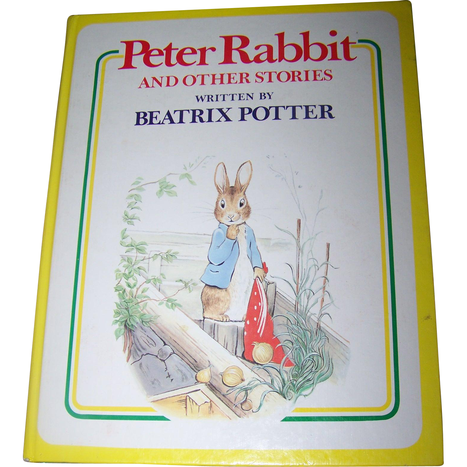 "Hard Cover Children's Book "" Peter Rabbit and other Stories Written by Beatrix Potter """