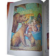 "Charming Hard Cover Children's Book  "" The Three Bears "" Retold by Jane Carruth"