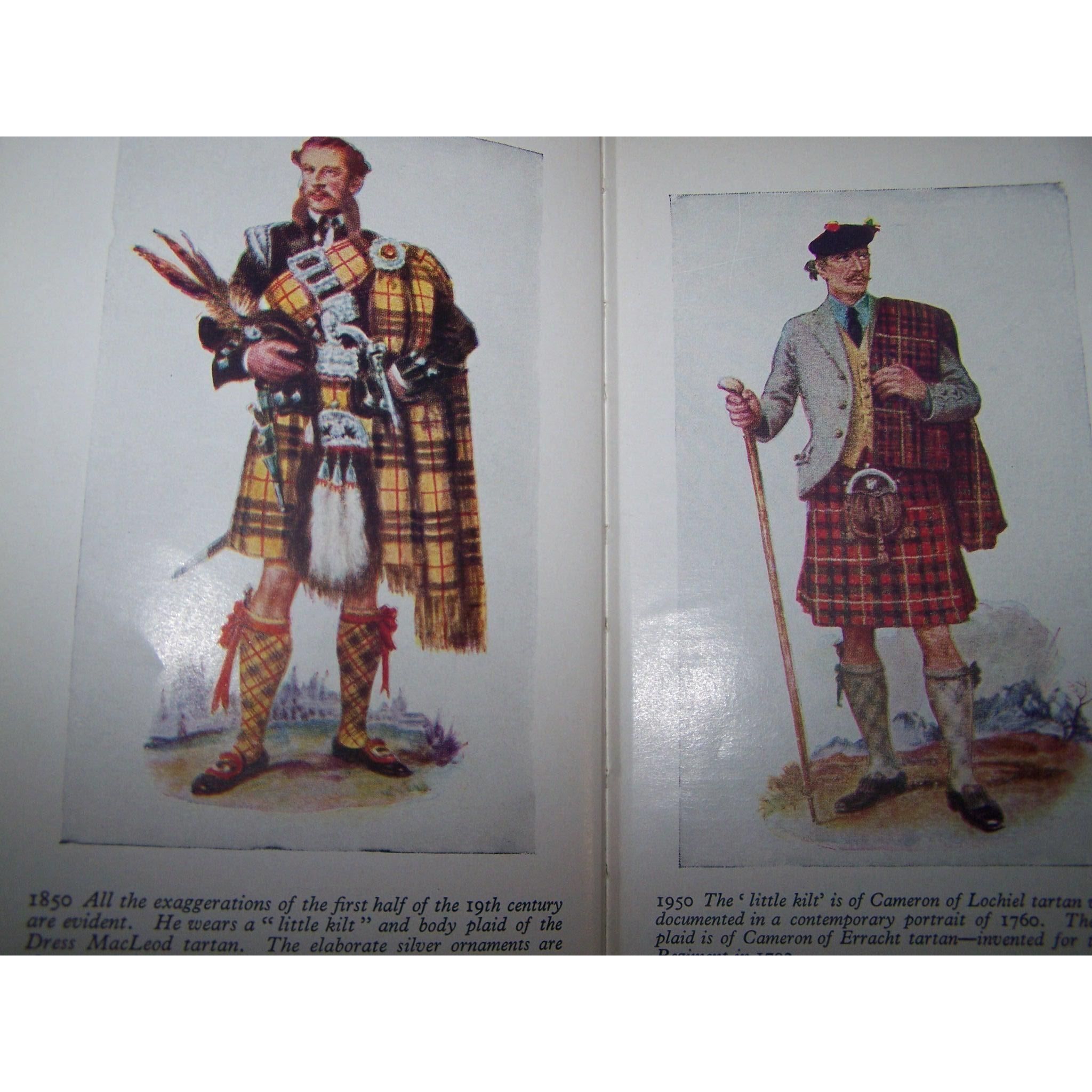 "Small Vintage Hard Cover Book ""Robert Bin's The Clans and Tartans of Scotland"