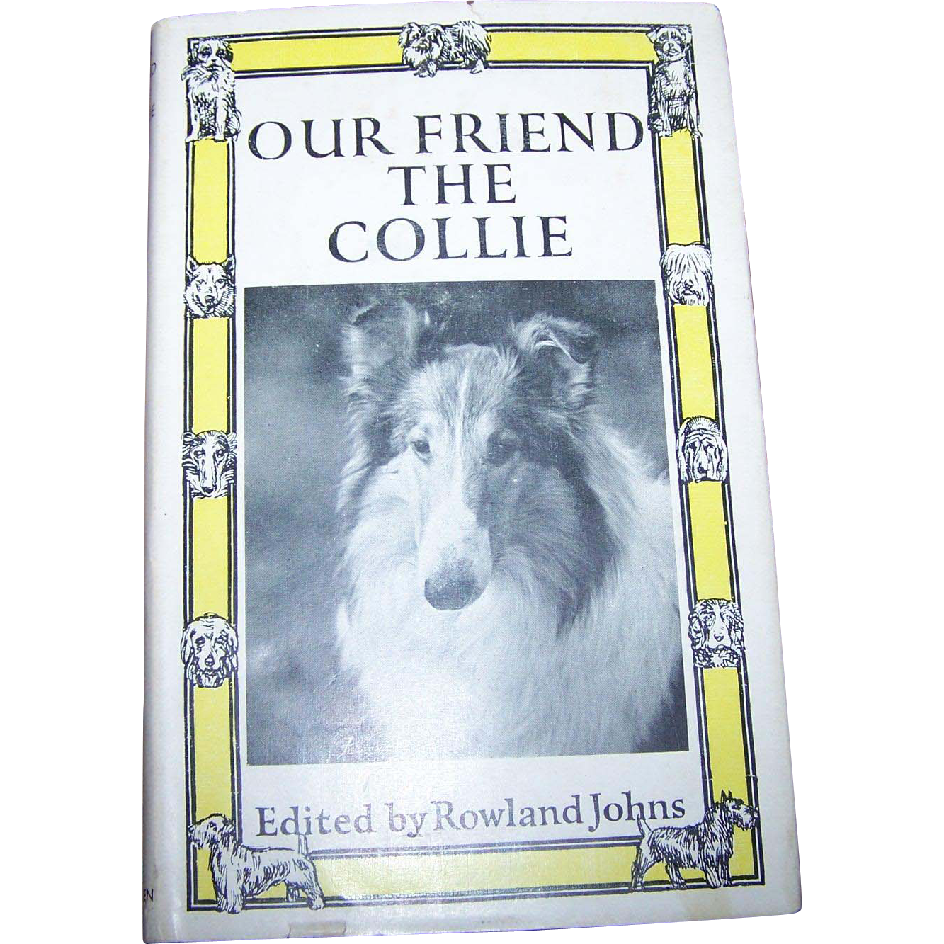 "Charming Little Book Titled "" Our Friend The Collie """