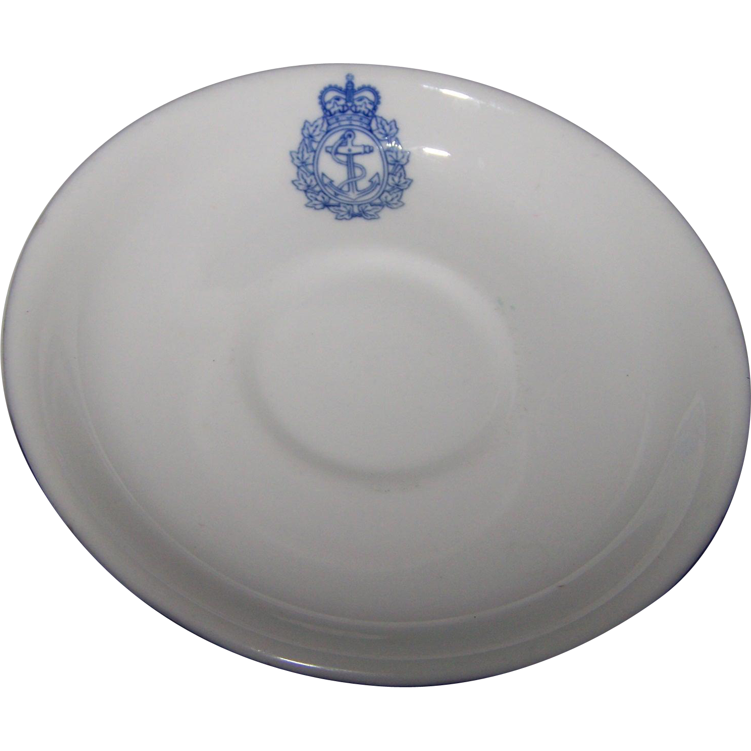 Small Vintage Royal Canadian Navy Saucer  Gladstone 1959