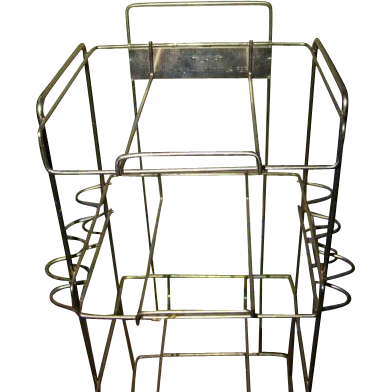 Store Display Vintage Wire Stand for Tins Property of Imperial Tobacco Sale Company