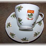 Duchess Bone China Tea Cup & Saucer  Prince Edward Island