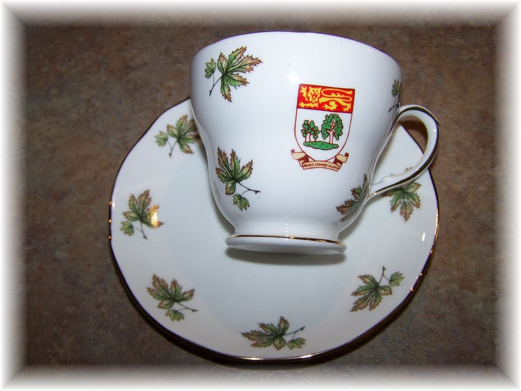 Duchess Bone China Tea Cup & Saucer  Prince Edward Island