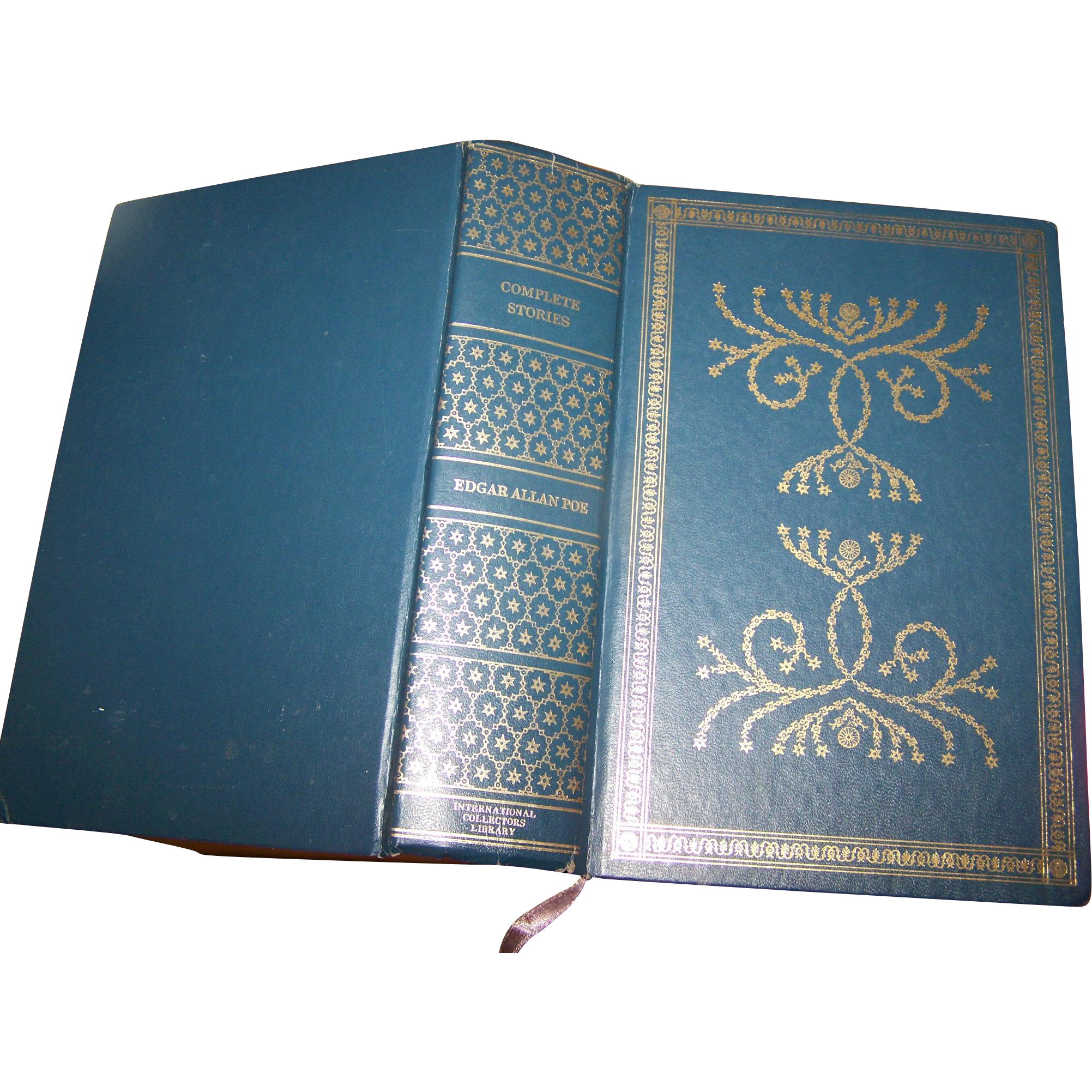 "Hard Cover Book "" Complete Stories of Edgar Allan Poe ""  C. 1966 Doubleday & Company"