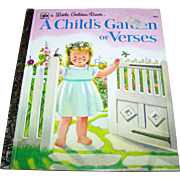 "Charming Children's Book "" A Child's Garden of Verses "" A Little Golden Book"