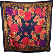 Lovely Rich Floral Print Berkshire Ladies Fashion Scarf