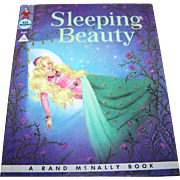 "Charming Hard Cover Vintage Children's Book "" Sleeping "" Beauty ""  Rand McNally"