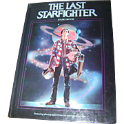 "Hard Cover Collectible Book "" The Last Star Fighter "" Storybook"
