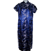Vintage Traditional  Chinese Dress by Jin Feng Asian Cheongsam Style