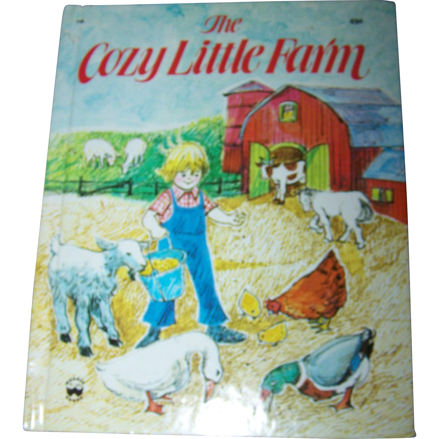 "Charming Children's Book "" The Cozy Little Farm ""  By Louise Bonino Wonder Books New York"