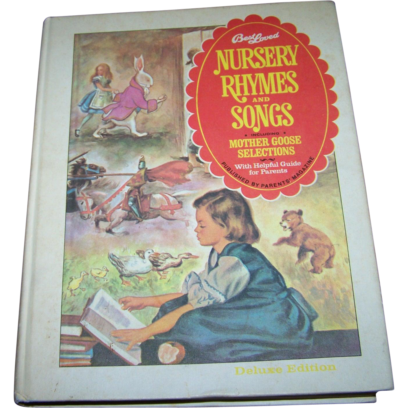 "Charming Hard Cover Children's Book "" Best Loved Nursery Rhymes and Songs "" by Parent's Magazine"