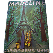 "Over Size Vintage Children's Book "" Madeline ""  By Ludwig Bemelmans This Edition 1966"