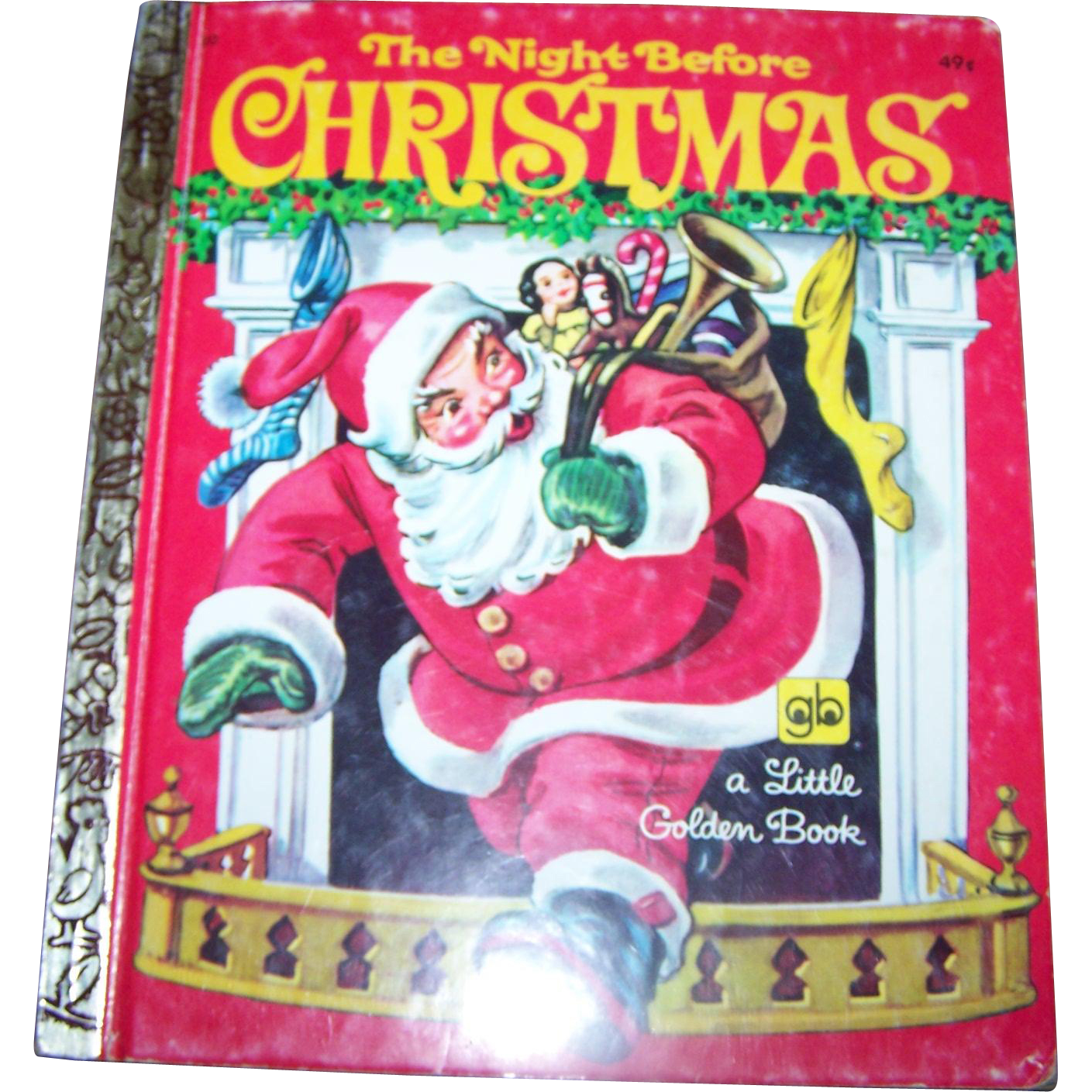 "Children's Book "" The Night Before Christmas ""  By Clement C. Moore Golden Press Western Publishing"