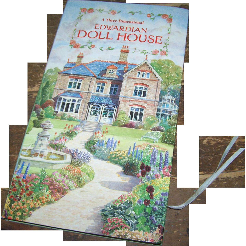 A Three Dimensional Edwardian DOLL HOUSE  1995 Intervisual  Books