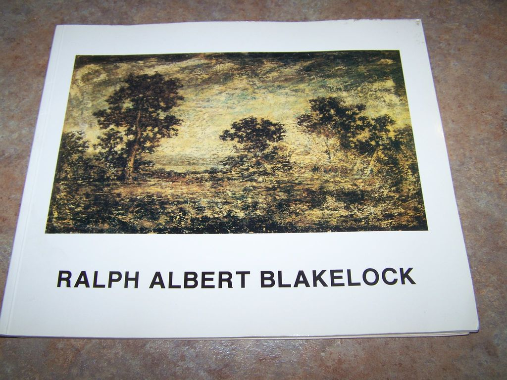 "Vintage Soft Cover Booklet "" Ralph Albert Blakelock "" C. 1987"