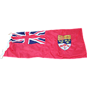 A Vintage Scyco Canadian  CANADA Ensign Flag 4 Ft