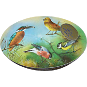 Advertising Carr's Biscuit Ornithology BIRD WATCHING TIN British Birding