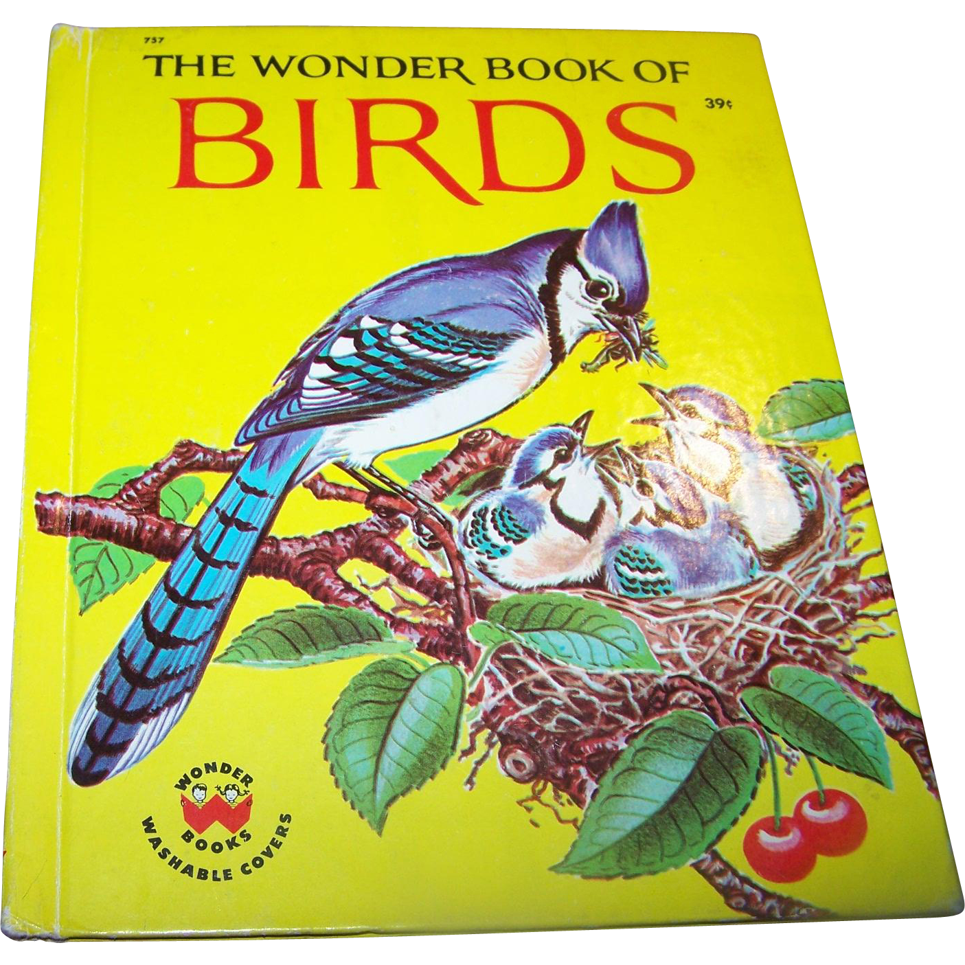 The Wonder Book of Birds Washable Covers 1961