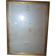 Lovely Vintage Decorative Photograph Picture Frame 7 1/2 by 5 1/2 Inches Easel Back Style