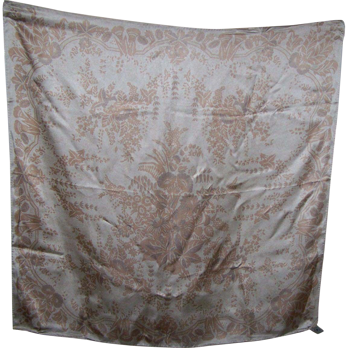 Beautiful Smithsonian Institution Reproduction 100% Silk Scarf