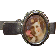 Sweet Little Delicate  Portrait  Photograph of a Pretty Lady Tie Clip
