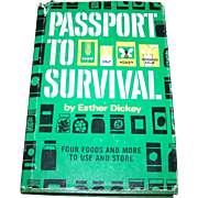 Passport To Survival By Esther Dickey Revised Hard Cover Book