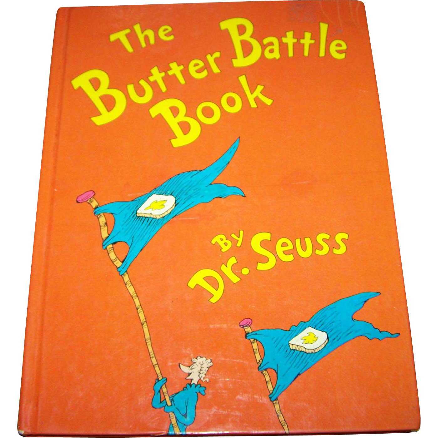 "Vintage Hard Cover Children's Book By Dr. Seuss "" The Butter Battle Book ""."