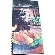 Benson & Hedges Presents Recipes from Great American Inns Cook Book