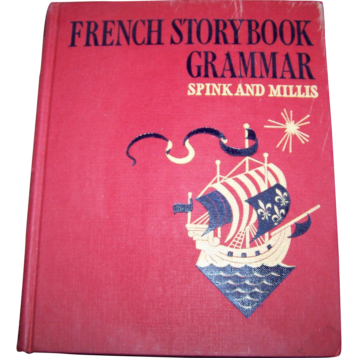 French StoryBook Grammar Hard Cover Children's Book by Spink and Millis