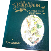 In FairyLand Hard Cover Illustrated Book  Pictures from the Elf World
