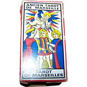Ancient Tarot of Marseilles Grimaud 1963 Pictorial Tarot Cards