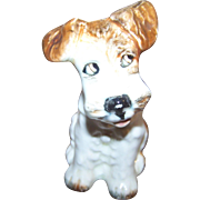 Charming Little Sylvac Terrier Puppy Dog Figurine Made In England
