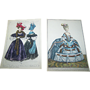 Charming Vintage Ladies Fashion Paper Prints Print Lot