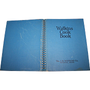 Watkins Cook Book   J R Watkins Winona MN Wire-O-Binding  Great Recipes