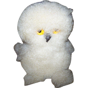 Vintage Souvenir Collectible Inuit Handicraft Arctic Snowy Owl OOKPIK