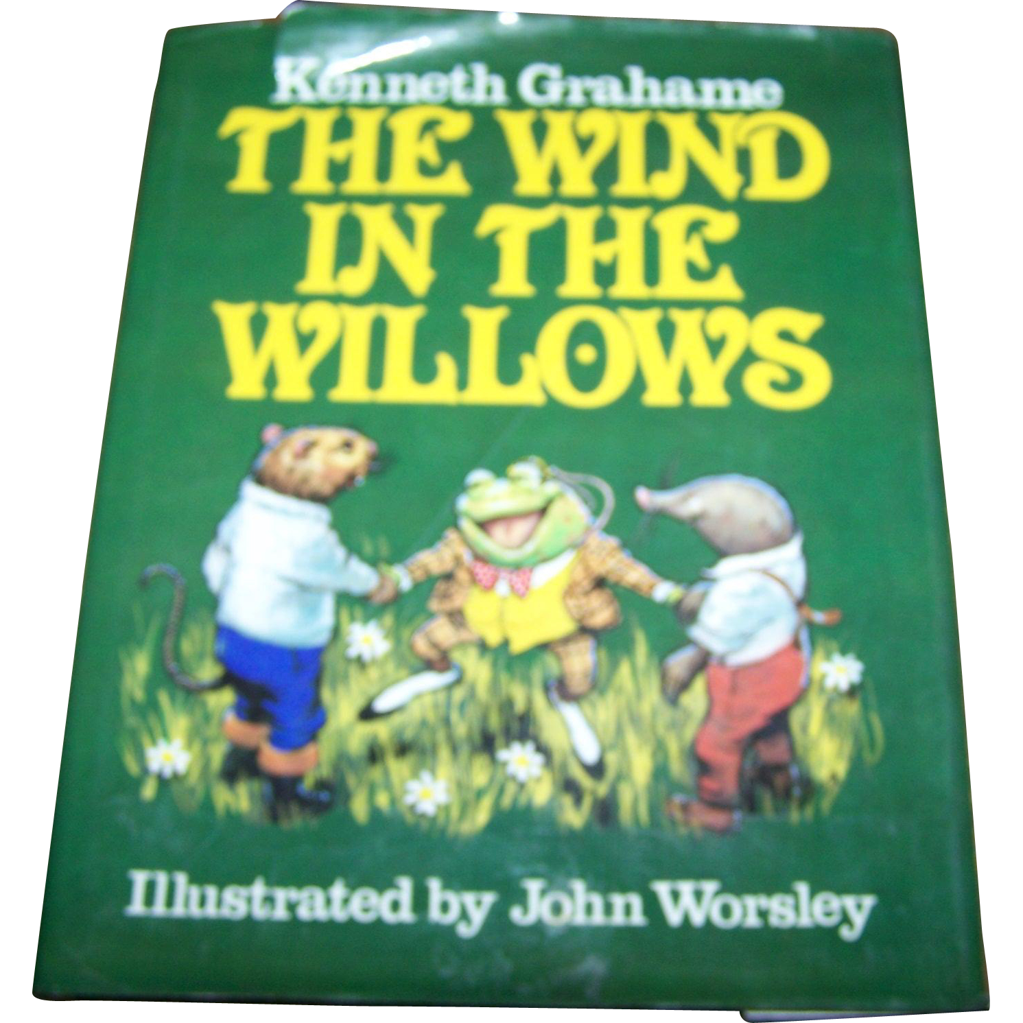"Kenneth Grahame "" The Wind In The Willows"" Hard  Cover Book Illustrated"