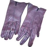 Genuine Deer Skin Hand Washable Size 6 1/2 Ladies Fashion Gloves