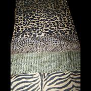 Rectangular Ladies Wild Animal Wild Cat Wild Wild Wild Print Scarf ADRIENNE VITTADINI for ACCESSORY STREET