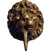 Lovely Decorative Brass Metalware Lion Head Door Knocker Home Decor Treasure