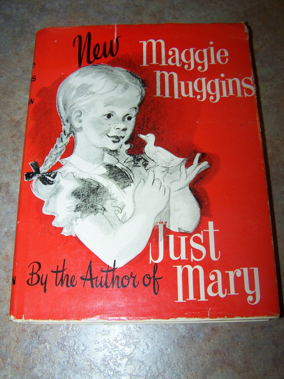New Maggie Muggins Hard Cover Children's Book C.1947