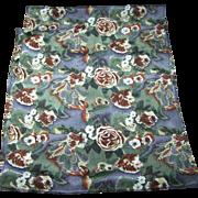 Lovely Long Rectangular Silk Ladies Fashion Scarf Flower Floral Theme Pattern