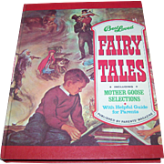 "Over Sized Hard Cover Children's Book "" Best Loved Fairy Tales "" Including Mother Goose Illustrated"
