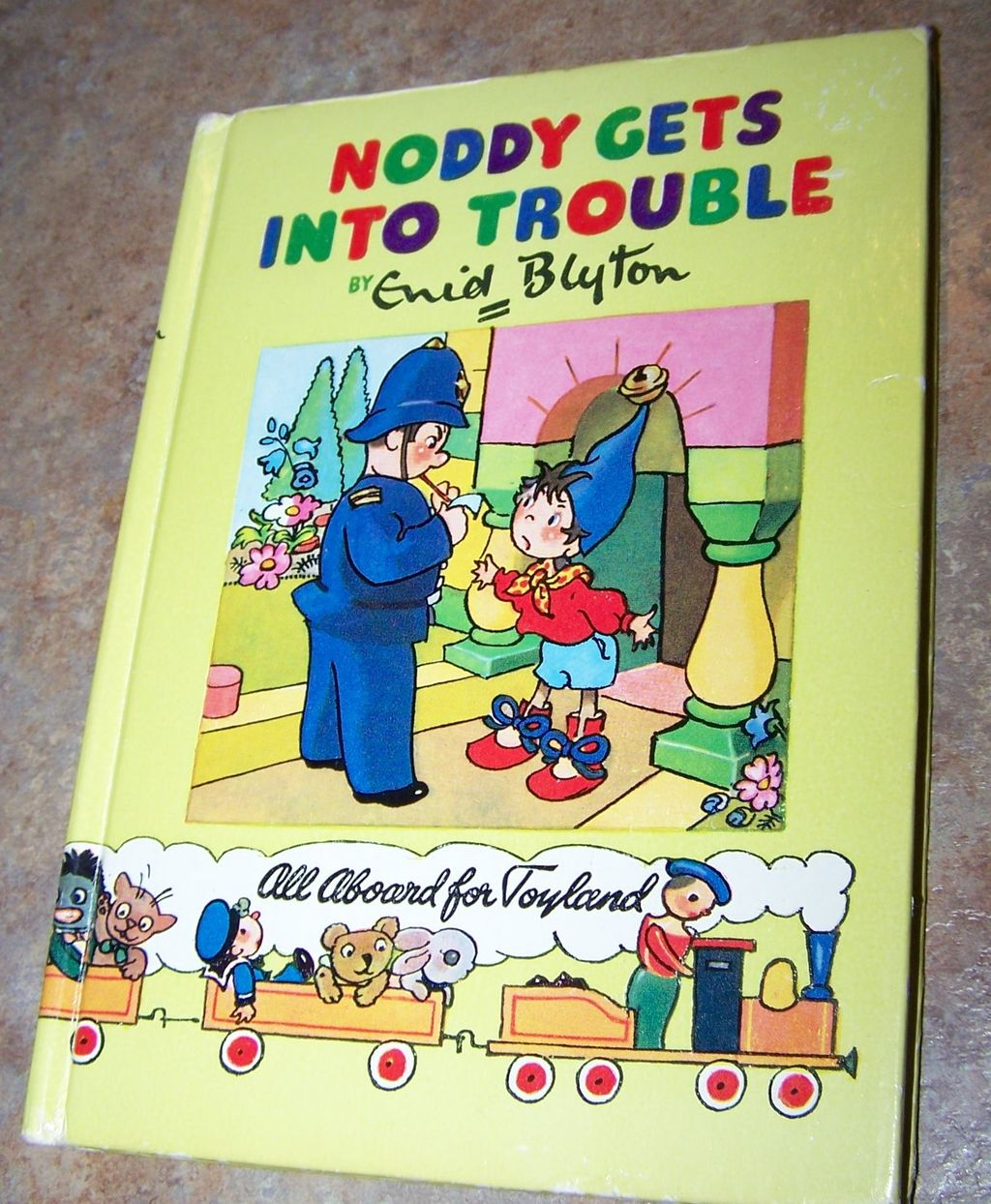Noddy Gets Into Trouble by Enid Blyton Sampson Low MCMLIV