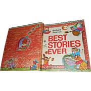 Hard Cover Over Size Children's Book By Richard Scarry Best Stories Ever