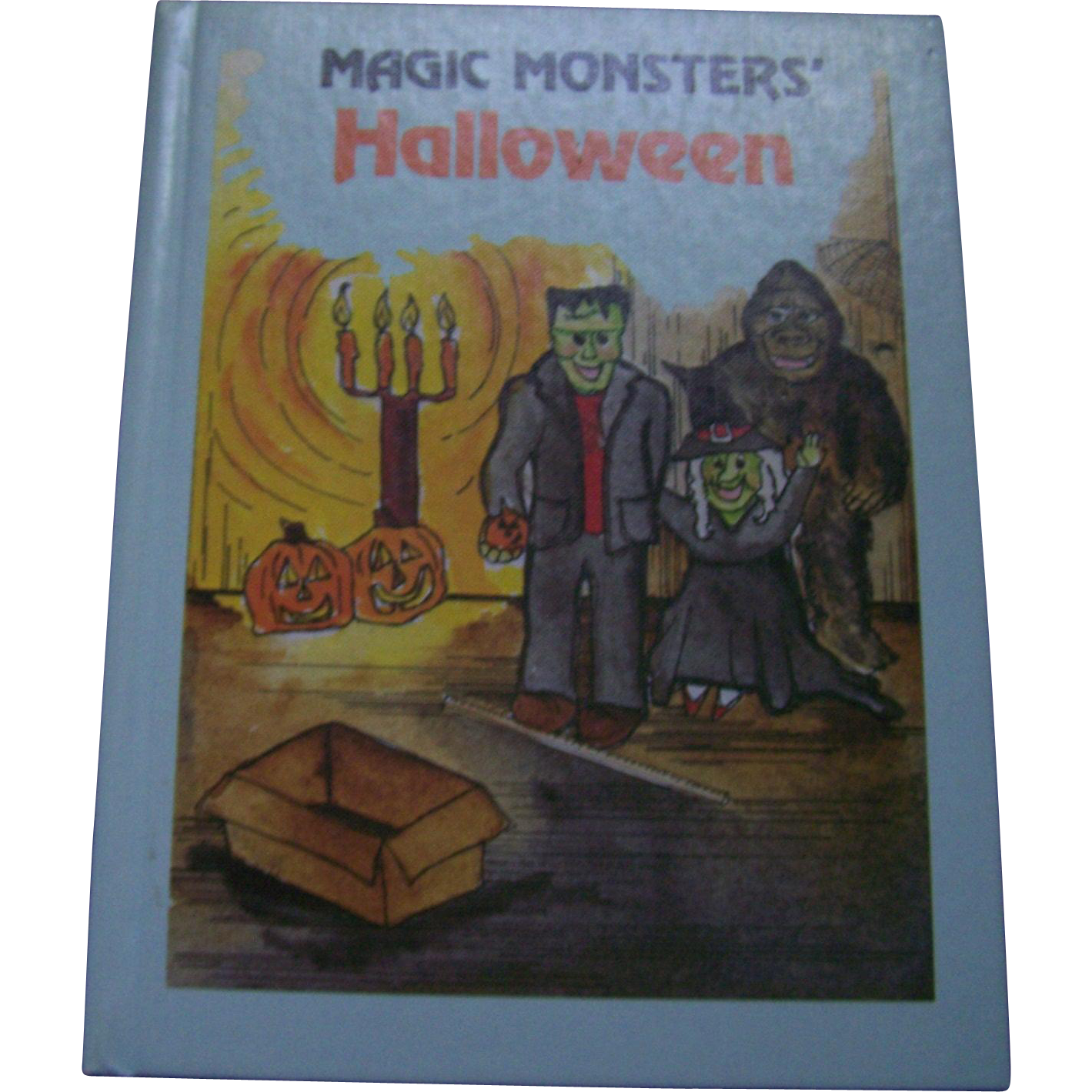 Magic Monsters Halloween Hard Cover Illustrated Children's Book  by Sylvia Root Tester