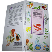 The Book of HERBS and SPICES Hard Cover By Arabella Boxer and Charlotte Parry-Crooke