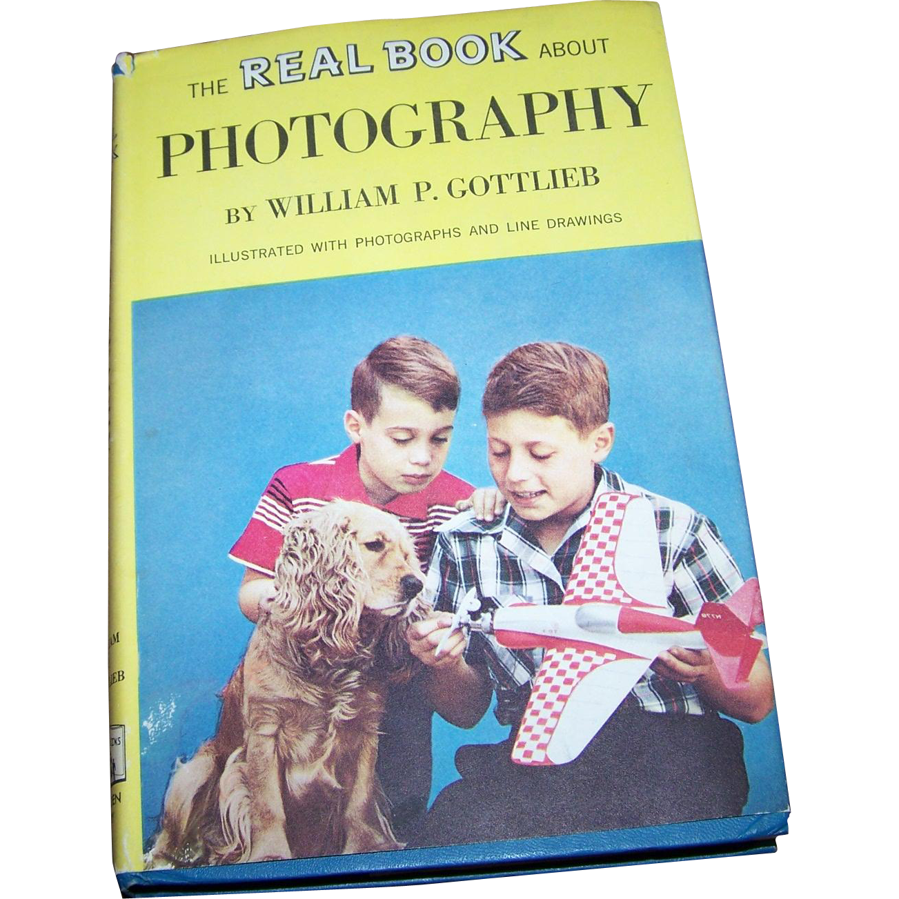 Hard Cover Children's Book THe Real Book About Photography William P Gottlieb