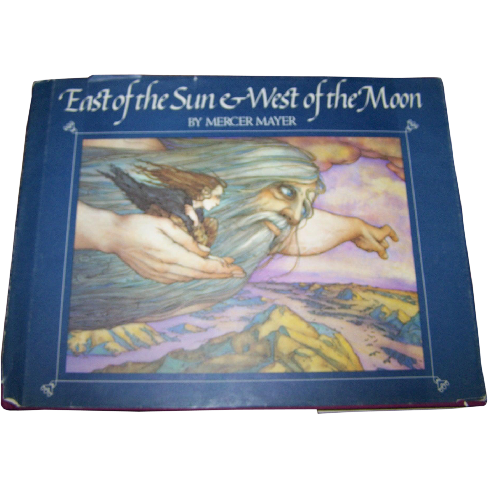 """Vintage Hard Cover Children's Book """" East of the Sun & West of the Moon""""  By Mercer Mayer"""