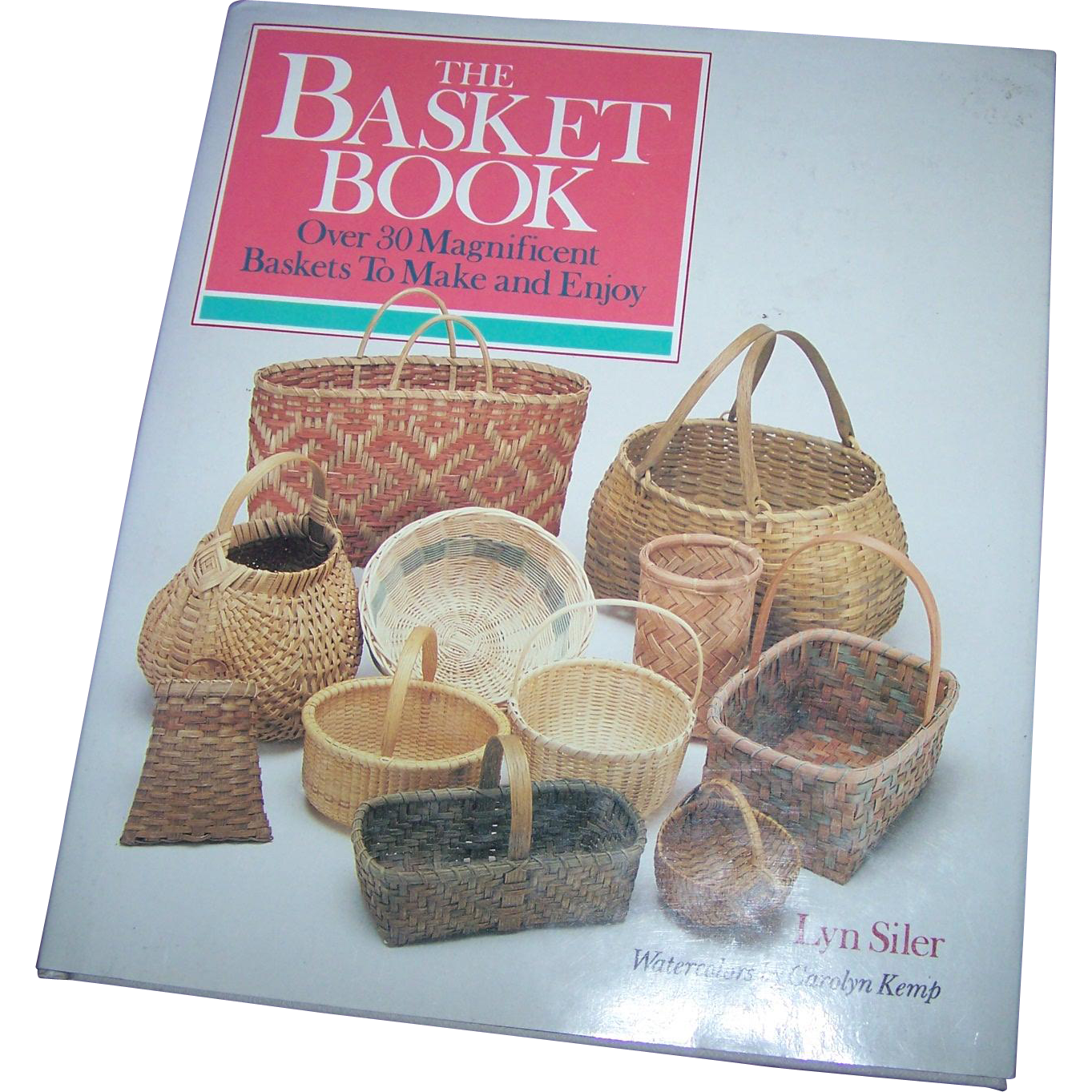 "A Wonderful Vintage Hard Cover Book Titled ""  The Basket Book """